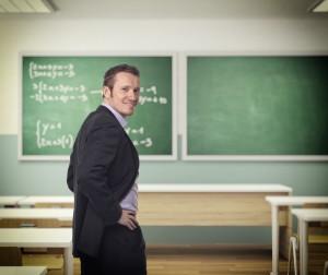 Lärare i ett klassrum